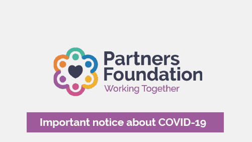 Covid-19 message from Partners Foundation